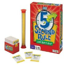 PATCH 5 Second Rule Just Spit it Out Game Ages 10-Adult Open Box Unused