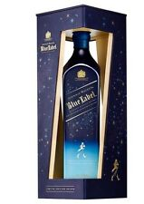SCOTCH WHISKY JOHNNIE WALKER BLUE LABEL WINTER  EDITION 70 CL 40%
