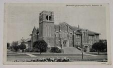 VINTAGE POSTCARD ~ METHODIST EPISCOPAL CHURCH RANTOUL ILL. IL POSTED 1950 RPPC
