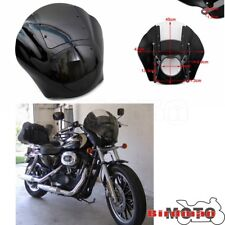 Front Headlight Fairing Cover Windshield Cowl For Harley Sportster Dyna Iron 883
