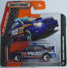 "Matchbox - 2007 Subaru Impreza WRX blaumet. ""Police"" Neu/OVP"
