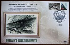 2011 Limited Edition Benham  Railway Train Tunnel Cover - Blea Moor Cumbria.