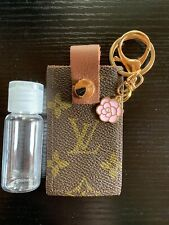 Bag charm LV Upcycled Louis canvas