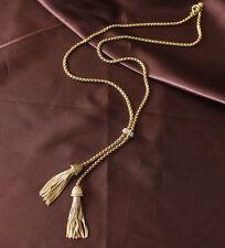 Hot Sale High Quality JC&DA Fashion Women Double-Tassel Pendant Necklace
