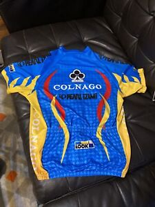 COLNAGO BIKES JERSEY MADE IN ITALY SIZE L