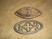 Antique SAD IRON Miniature CAST IRON TOY by DOVER, No. 902 W/Trivet rare