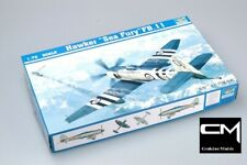 Trumpeter 01631 Hawker Sea Fury FB.11 1/72 Scale Plastic Model Aircraft Kit