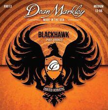Dean Markley Blackhawk Coated 80/20 Bronze Acoustic Guitar Strings gauges 10-47