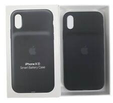 Original OEM Apple iPhone XR caso batería inteligente MU7M2LL/A Negro Genuino Garantía