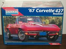 Monogram 1/25 Scale '67 Corvette 427 Roadster - Factory Sealed