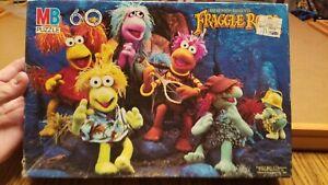 Vintage 1985 FRAGGLE ROCK 60 piece Puzzle Milton Bradley Muppets Henson