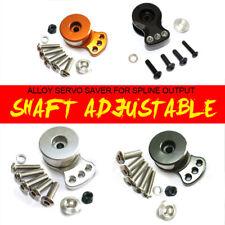 Fit Stock Plastic 25T Output Gear Adjustable Hi-Torque Aluminum Servo Saver 15mm