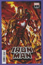 IRON MAN #1 1:50 BROOKS VARIANT MARVEL COMICS Actual Scans!