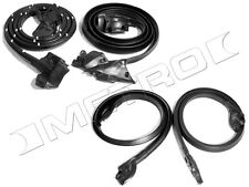 1973-1977 73-77 El Camino, Sprint WEATHERSTRIP KIT