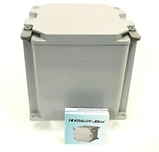 Kraloy JBOX 278305 JBX666 PVC Electrical Housing Enclosure 6x6x6""