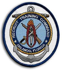 Us Navy Rtc Orlando Florida Recruit Training Command Patch (Last Version)
