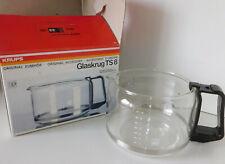 recipient de CAFETIERE KRUPS TS8 ts-8 glass JUG carafe GLASKRUG verre VERSEUSE