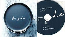BRYDE EP1 2016 UK 4-trk promo test CD