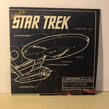 Inside Star Trek Lp Album Gene Roddenberry 1976 Columbia Records Pc 34279 Vg+