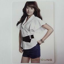 SNSD K-POP Girls' Generation GENIE Original Limited Sooyoung Photocard Official