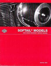 2008 Harley Softail FLS FXC Repair Service Workshop Shop Manual Book