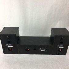 JVC Speakers SP-THM55 Surround Sound Satellite Speakers Bookshelf 3 Piece set