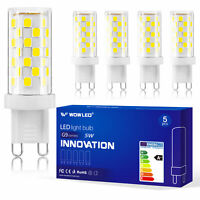 5 X 10 X G9 5W LED Capsule Bulb Replace Light Lamps AC220-240V WOW