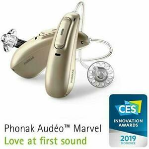 1*Phonak Audeo M30 312 BATTERY RIC Hearing Aid -Bluetooth With Warranty