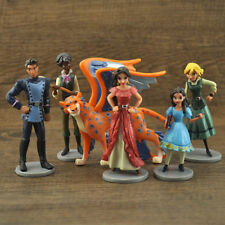 6 Disney Elena of Avalor Action Figures Doll Kids Play Set Toy Cake Topper Decor