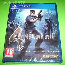 RESIDENT EVIL 4 NUEVO Y PRECINTADO PAL ESPAÑA PLAYSTATION 4 PS4