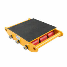 More details for 15t machinery mover rolling skate localfast heavy duty built-in handle durable