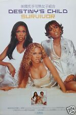 "Destiny'S Child ""Survivor"" Hong Kong Promo Poster - Chinese & English Writing!"