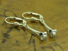 925 Sterling Silver Earrings With Spinel Decorations/Earrings/Real / 0.0459oz