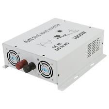 1000W Pure Sine Wave Inverter 12/24/48V to 120/220V Car Power Generator Solar Rv