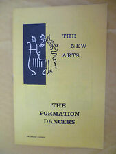 New Arts Theatre 1st Performance 1964- M Codron's THE FORMATION DANCERS-F Marcus