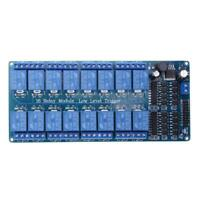 New 16-Channel 5V12V Relay Module Board For Arduino PIC AVR MCU DSP ARM PLC N#S7