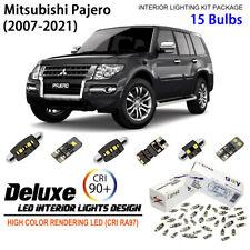 15 Bulbs Interior Led Light Kit White For Mitsubishi Montero Pajero 2007 2021