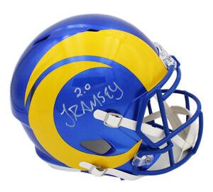Jalen Ramsey Signed Los Angeles Rams Speed Full Size 2020 NFL Helmet
