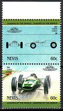 Nevis postfrisch MNH Cooper Climax 1960 England Rennwagen Sport Auto Oldtimer /2