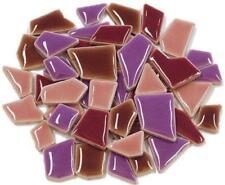 Flip céramique Mini tuiles de Mosaïque - Violet Mélange 100g