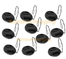 (10 Packs) 72mm Snap-On Lens Cap for Canon Nikon Sony Pentax Fujifilm Lense