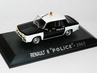 RE4E Voiture 1/43 M6 norev  RENAULT 8 POLICE pie 1965