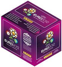 EURO 2012 PANINI COLECCIÓN DE Pegatinas~100 paquetes + GRATIS Face Pinturas & 3