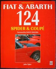 FIAT & ABARTH 124 SPIDER & COUPE JOHN TIPLER CAR BOOK