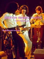 "GEORGE HARRISON PHOTO $2, THE BEATLES, BANGLADESH TOUR 1974 8x11"" RARE L.A.FORUM"