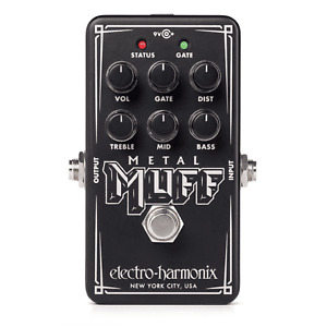 Electro-Harmonix Nano Metal Muff - Distortion with Noise Gate
