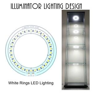 Rings Light LED Lighting Kits for IKEA DETOLF Aluminum 4 Rings - Best Lighting!