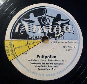 "Berliner Rundfunks - Dobschinski - Fettpolka - Amiga - /10"" 78 RPM"