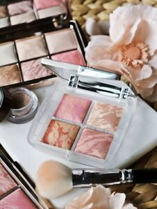 New! HOURGLASS Ambient Lighting Blush Bronzer Quad Ghost Palette + Free Sample
