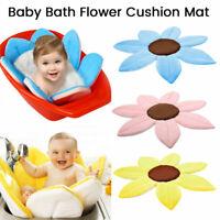 Blooming Bath Flower Bathtub Mat Baby Bathing Sink Cushion Security Padded